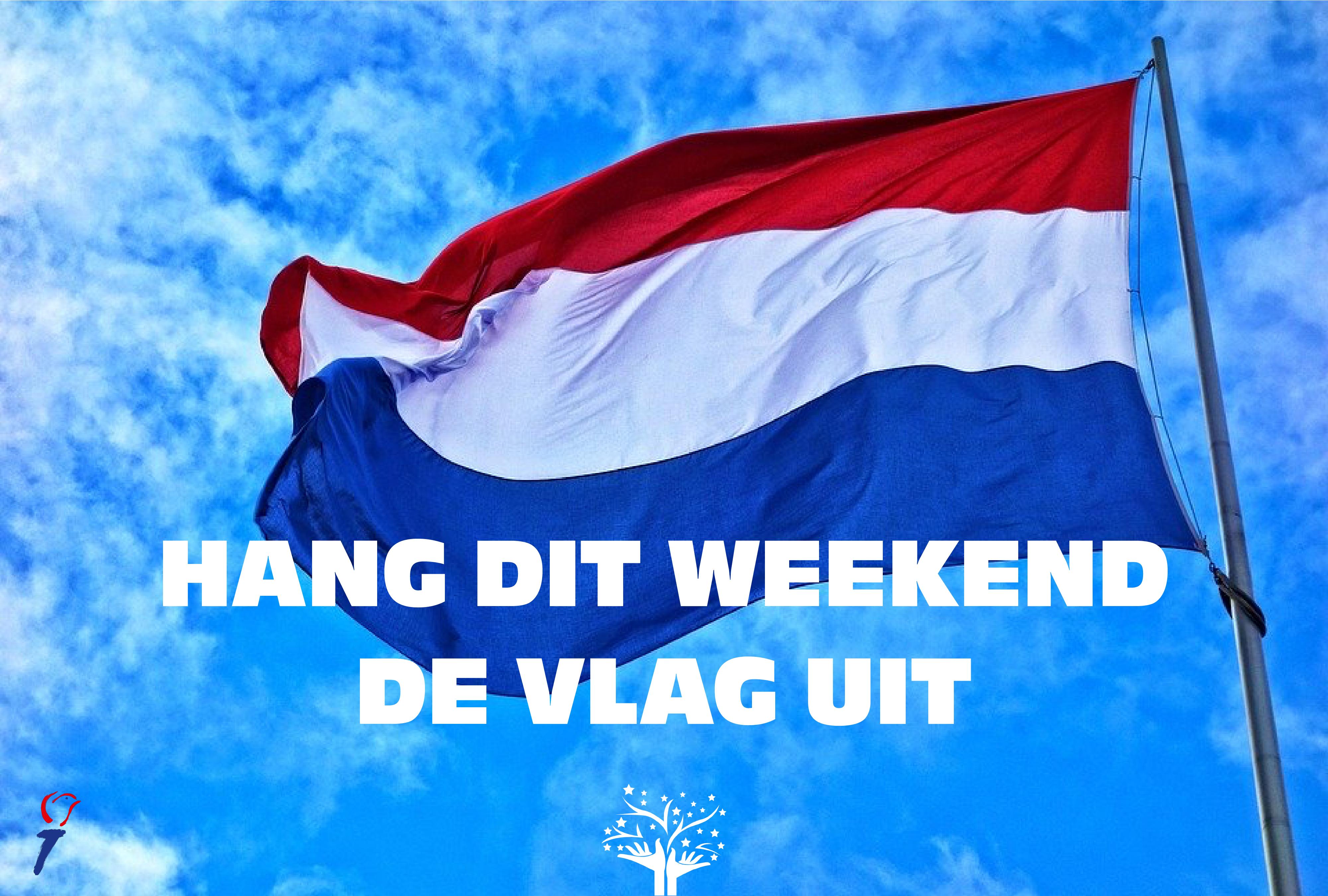 Hang dit weekend de vlag uit!